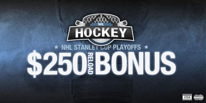 nhl bets tonight sportsbook reload bonus